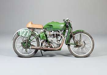 1937 Shaw Velocette 249cc MOV Racing Motorcycle