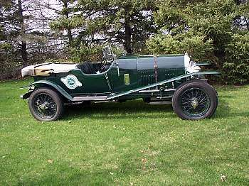 1923 Bentley 3-Liter Short Chassis Sports Open Tourer