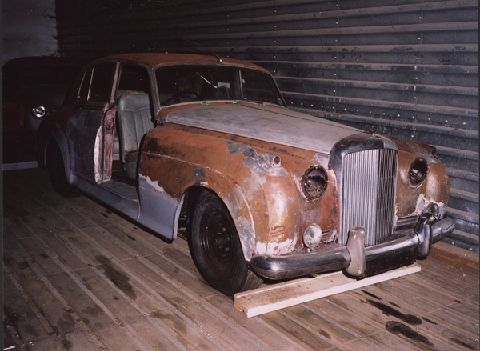 1956 Bentley S1 Restoration