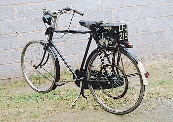 1950 Cyclaid & Raleigh Cycle