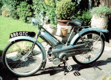 1957 RALEIGH MK1 MOPED