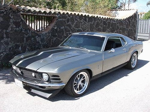 1970 Ford Mustang Boss 302 Shelby Gt500 Eleanor Sportsroof