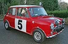 1964 Mini Cooper 1275S Ex-Works Rally Saloon