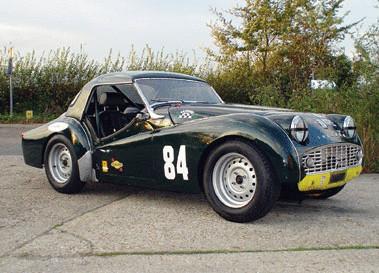 Triumph Tr Race Car