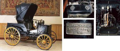 1897 PANHARD-LEVASSOR TYPE M2F SINGLE PHAETON WITH HOOD
