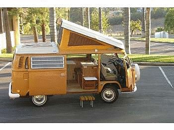 1972 Volkswagen Type 2 Kombi Westfalia Camper Van