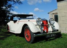1937 ALVIS SPEED 25 SB SERIES 4 SEATER OPEN TOURER