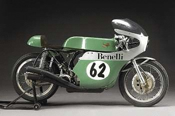 1998 Benelli 350cc Beale Replica Racing Motorcycle