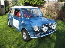 1966 Morris Mini Cooper 1275S Rally Saloon