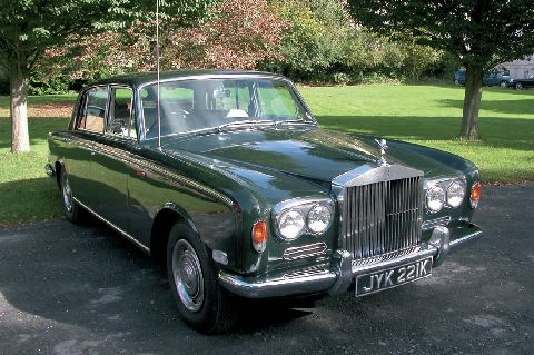 1971 Rolls-Royce Silver Shadow Series 1 Limousine with partition