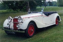 1937 Alvis Speed 25 Type SB