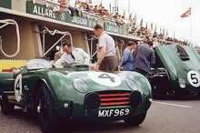 <i>The Ex-Sydney Allard/Jack Fairman Le Mans 24-Hours race</I><BR><B>1952 Allard-Chrysler/Cadillac  J2X Two-Seat Sports-Racing Roadster</b><BR>Registration no. MXF969<BR>Chassis no. J-3055