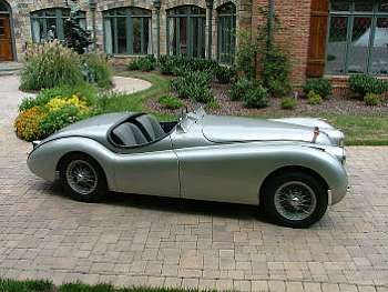 1950 Jaguar XK120 'Alloy' Competition Roadster