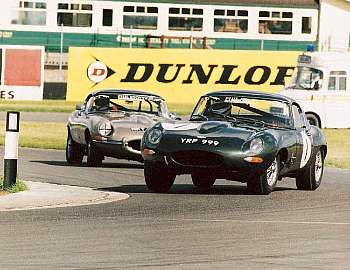 1961 Jaguar E-Type Two-Seater Competition Roadster
