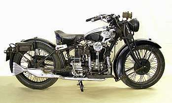 1933 Matchless 592cc Silver Hawk