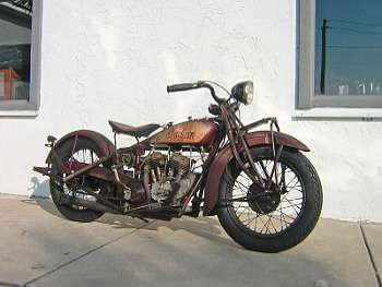 1928 Indian 750cc 101 Scout Picture Gallery Motorbase