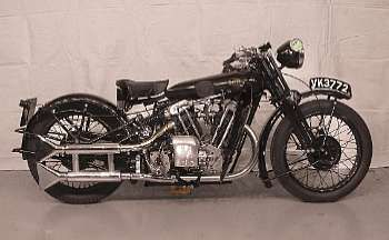 1931 Brough Superior Black Alpine VK 3772