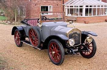 1913 Rover 12hp Two Seater Tourer