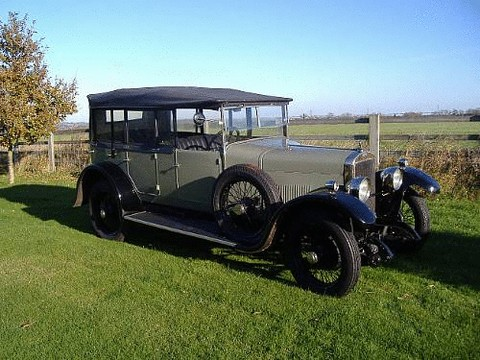 1925 Sunbeam 14/40hp Five-seat Tourer<BR>Coachwork by Brainsby of Peterborough