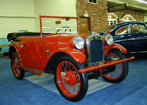 Bmw Dixie Cabriolet Red  Fvr (1926)