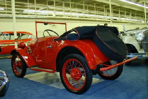 Bmw Dixie Cabriolet Red  Rvl (1926)