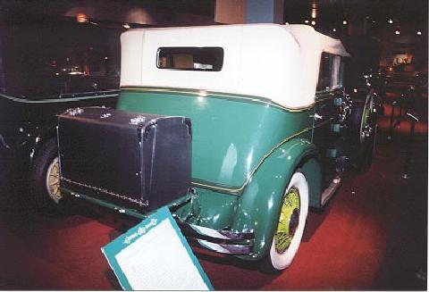 Franklin Rear (1930)
