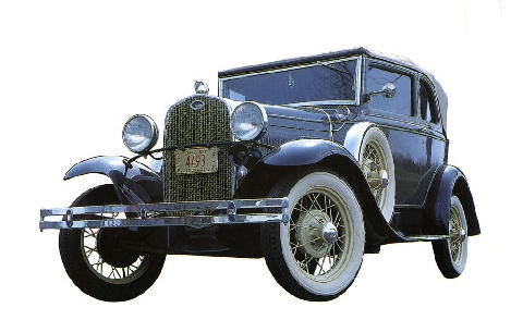 ford Model A Convertible1 (1931)