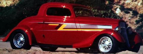 Ford 3 Window Coupe Zz Top (1934)