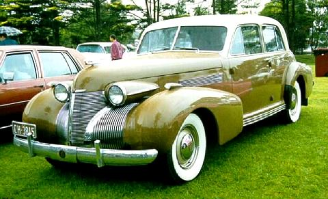 Cadillac 60 Special Sedan Gold Fvl (1939) - Picture ...