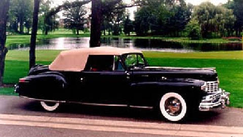 Lincoln Continental Cabriolet Tu  Fvr (1948)