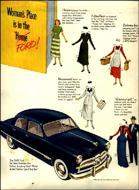Ford Fordor Blue Advert (1949)