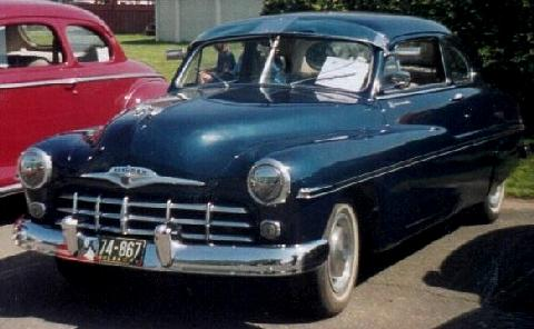 Monarch Club Coupe  Fvldany(1949)