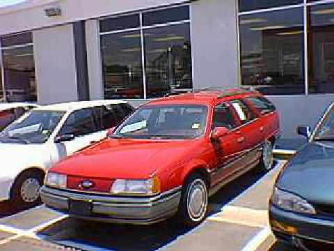 1990 Ford Taurus >> Ford Taurus Gl Wagon (1990) - Picture Gallery - Motorbase