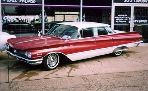 buickinvicta Redwhite (1960)