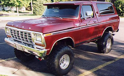 bronco4x4 Red (1979)
