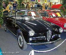 Alfa Romeo Giulietta Sprint 1955 Front three quarter view