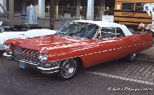 Cadillac 63 De Ville Convertible 1964 Red