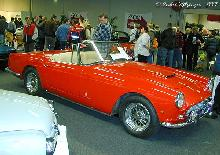 Ferrari 250 GT Convertible Pininfarina 1961 Front three quarter view