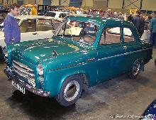 Ford Anglia 100e 1955 Front three quarter view