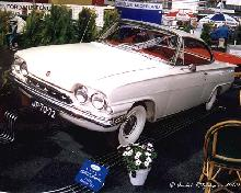 Ford Consul Capri 1,5 Litre 1962 Front three quarter view