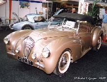 Westland Healey Convertible 1947 Front three quarter view