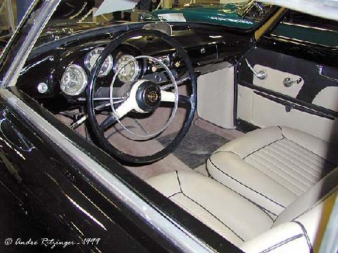 Std Alfa Romeo Giulietta Sprint Interior