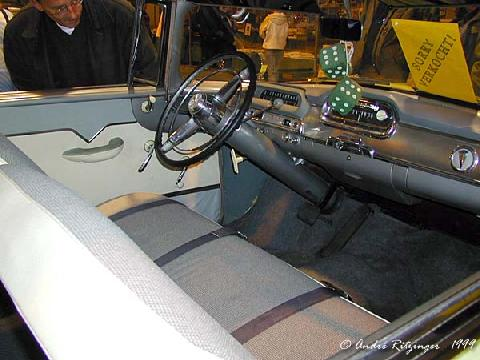 Hudson Hornet Special Hollywood Hardtop 1956 Interior