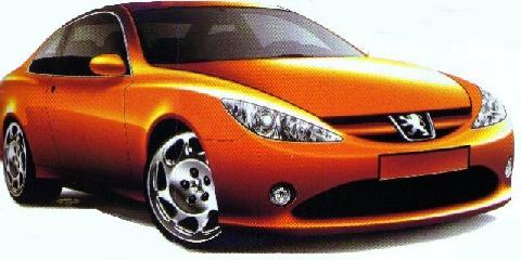 Peugeot 607 Coupe Sketch 2