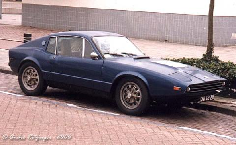 Saab Sonett III 1972 Front three quarter view