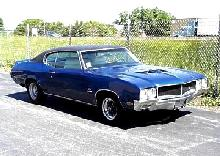 Buick Gs 455 Stage 1 Hardtop Coupe Blueblack  Fvr (1970)