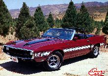 Ford Shelby Mustang GT 500 Convertible (1970)