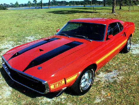 Ford Shelby Mustang GT 350 (1970)