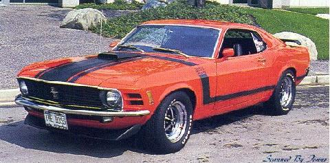 Ford Mustang Boss 302 1 (1970)