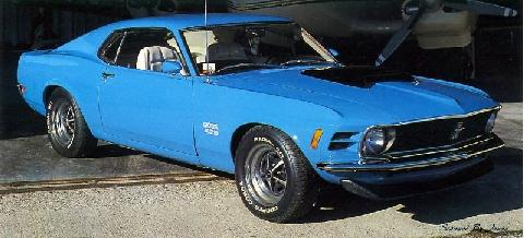 Ford Mustang Boss 429 (1970)